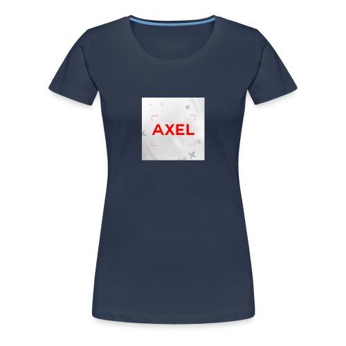 T-shirt Klein logo - Vrouwen Premium T-shirt