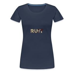 Ruit Palm Trees - Vrouwen Premium T-shirt