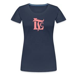 LTC Monogram - Premium-T-shirt dam
