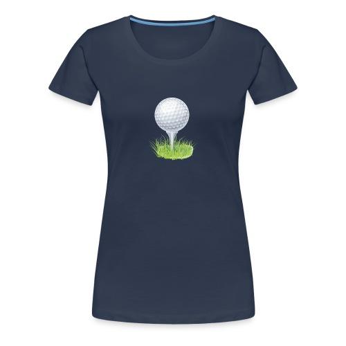 Golf Ball PNG Clipart - Camiseta premium mujer