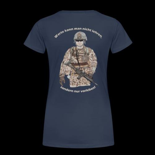 Werte - Frauen Premium T-Shirt