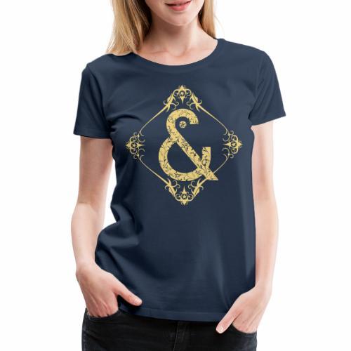 Floral & ... - Camiseta premium mujer