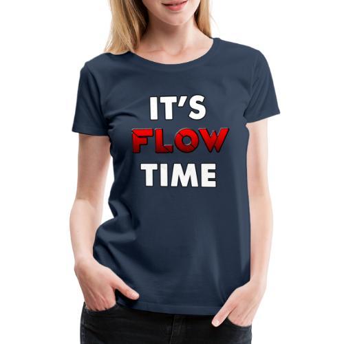 CZAS PRZEPŁYWU - Koszulka damska Premium