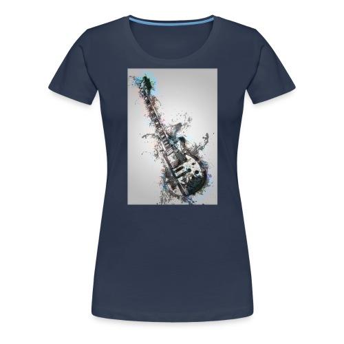 Guitare - T-shirt Premium Femme