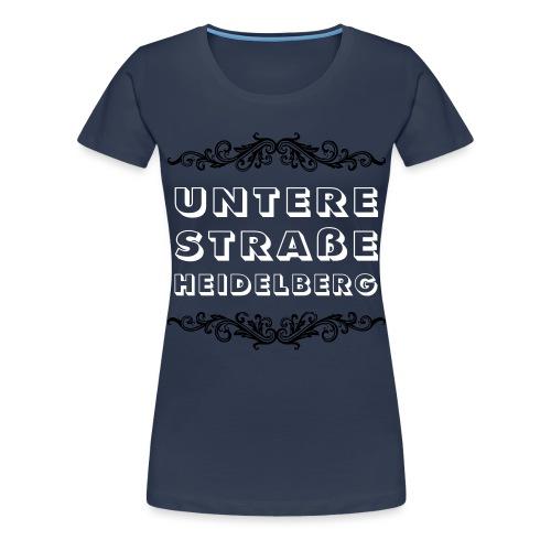 Untere Straße, Heidelberg - Frauen Premium T-Shirt