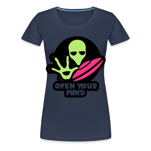 Alien Open your mind - Women's Premium T-Shirt