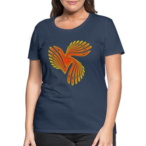 Vogel Paradiesvogel Kakadu Ikarus Chaos 4314aut - Frauen Premium T-Shirt