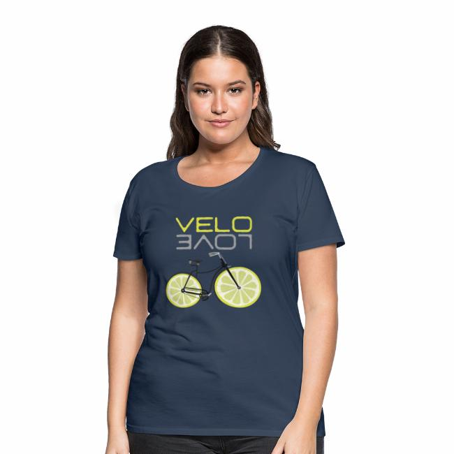 Lemon Bike Shirt Velo Love Shirt Radfahrer Shirt