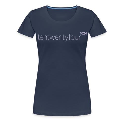 1024_LOGO_blue_ - Frauen Premium T-Shirt