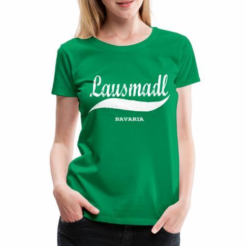 LAUSMADL BAVARIA - Frauen Premium T-Shirt