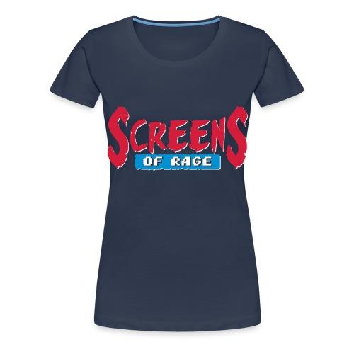 screens of rage - Women's Premium T-Shirt