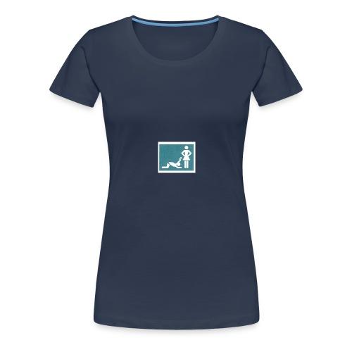 ehe zeichen - Frauen Premium T-Shirt