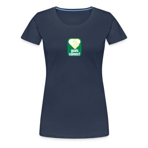 goals connect vector farbe - Frauen Premium T-Shirt