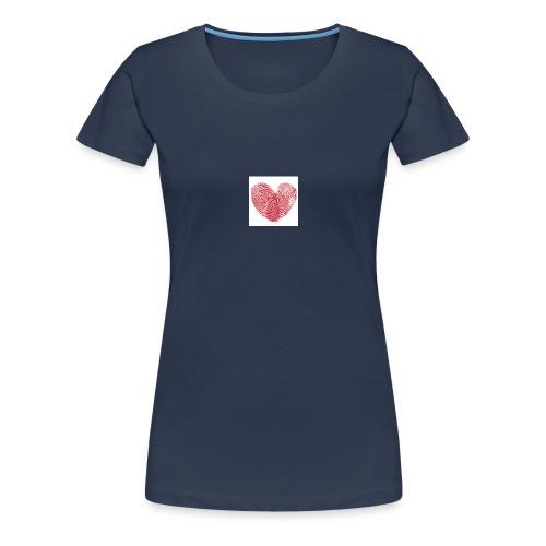 amor - Camiseta premium mujer