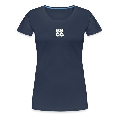 BBGG Logo White - Women's Premium T-Shirt