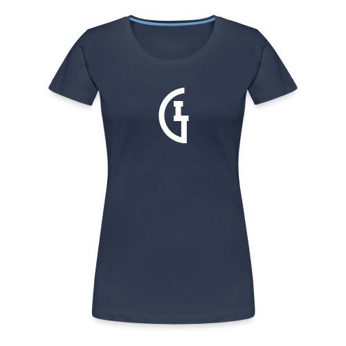 LG white - Vrouwen Premium T-shirt