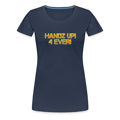 rgmusic_handzup_4ever-1 - Women's Premium T-Shirt