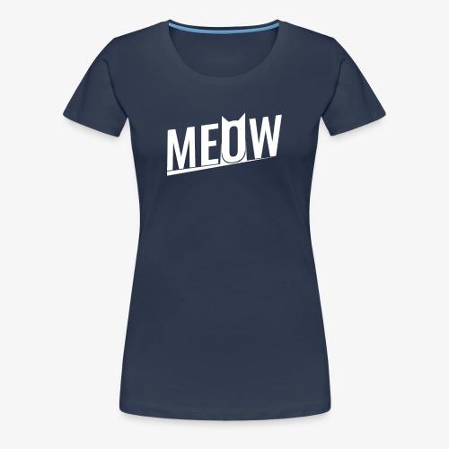 Meow White - Koszulka damska Premium