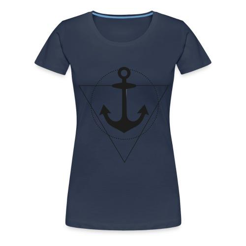 Ahoi Anker - Frauen Premium T-Shirt