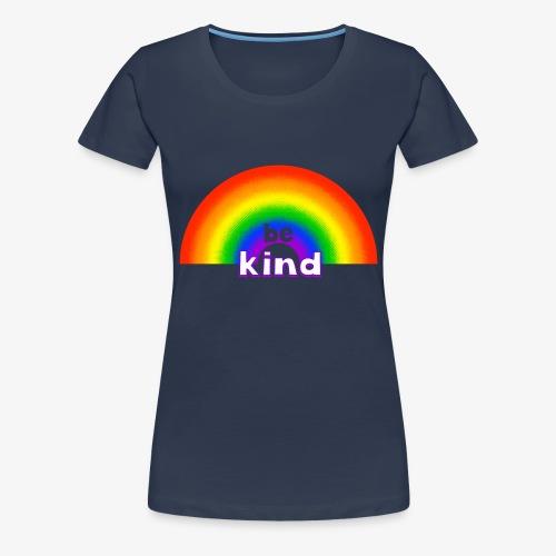 Be Kind Rainbow Regenbogen Farben - Frauen Premium T-Shirt