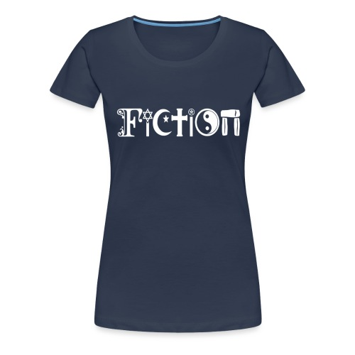 Fiction weiss - Frauen Premium T-Shirt