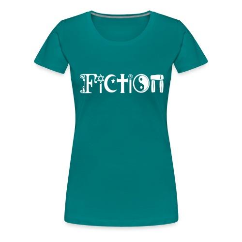 Fiction weiss - Frauen Premium T-Shirt