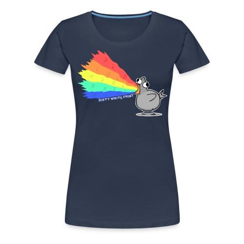 Zaubertaube - Women's Premium T-Shirt