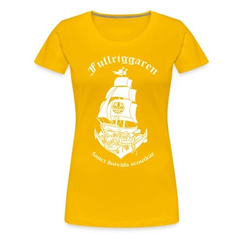 Fullriggaren5 png - Premium-T-shirt dam