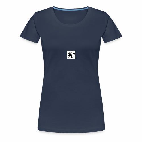 LOGO-TIM HUBER - Frauen Premium T-Shirt