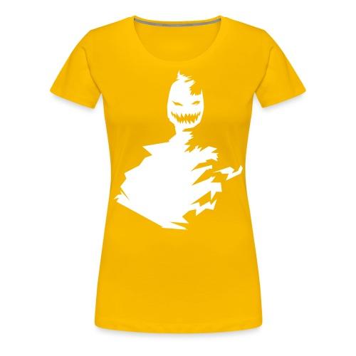 t-shirt monster (white/weiß) - Frauen Premium T-Shirt