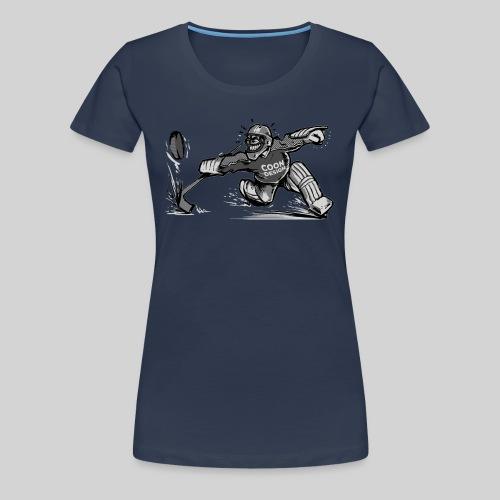 CoonDesign - Goalie II - Frauen Premium T-Shirt