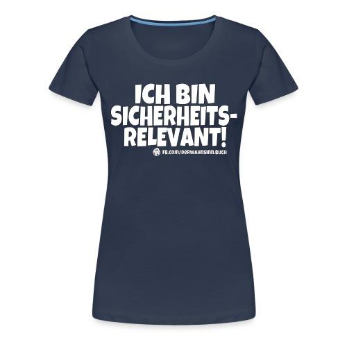 Shirt Sicherheitsrelevant png - Frauen Premium T-Shirt