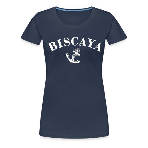 biscaya small svart - Premium-T-shirt dam