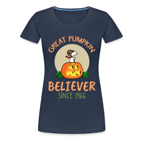Great pumpkin believer since 1966 - Women's Premium T-Shirt