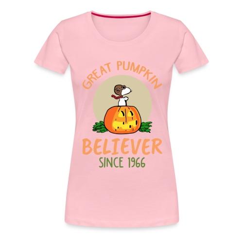 Great pumpkin believer since 1966 - Women's Premium T-Shirt