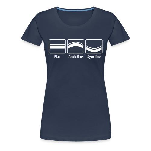 Structural Geology - T-shirt Premium Femme