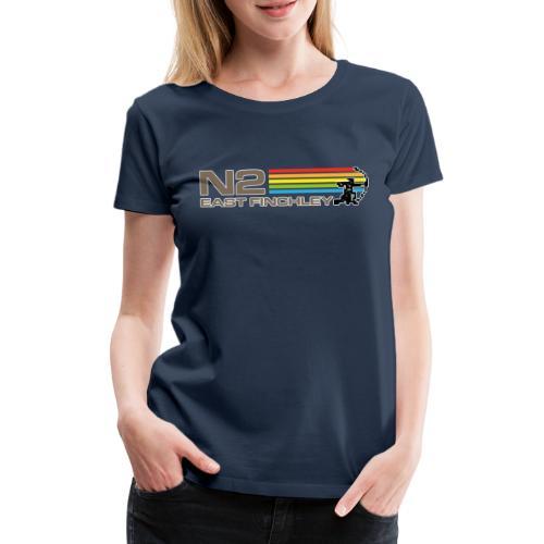 EF Spectrum 80s Software Style with 8 Bit Archer - Women's Premium T-Shirt