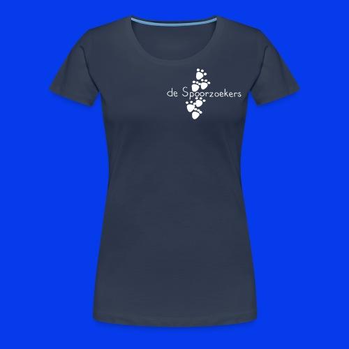 Spoorzoekers-Vrouw - Vrouwen Premium T-shirt