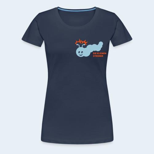 Stromer Raupe zweifarbig - Frauen Premium T-Shirt