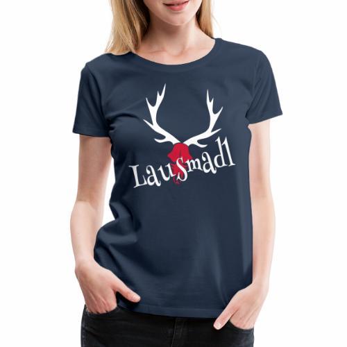 lausmadl hirsch - Frauen Premium T-Shirt
