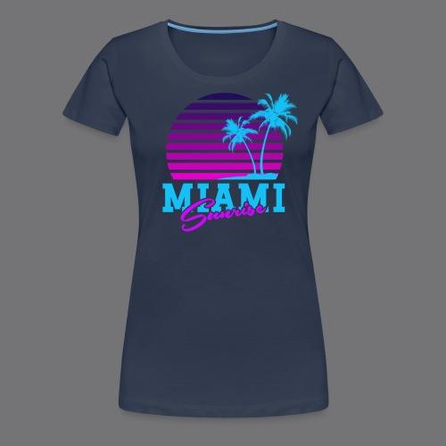 MIAMI SUNRISE t-shirts - Women's Premium T-Shirt