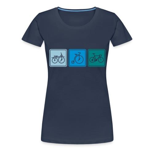 Bike Evolution - Women's Premium T-Shirt