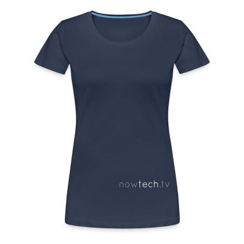 Titre nowtechTV - T-shirt Premium Femme