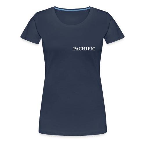PACHIFIC Schriftzug, weiss - Frauen Premium T-Shirt