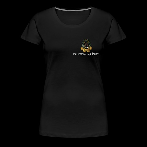 gloOm Music Front And Tree Of Life Back - Women's Premium T-Shirt