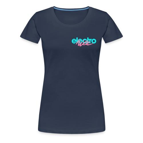 electronice_turkis - Premium T-skjorte for kvinner