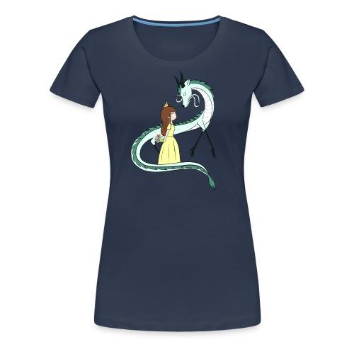 Die Prinzessin und der Drache - Frauen Premium T-Shirt