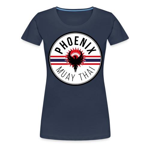 phoenix muay thai07 - Women's Premium T-Shirt