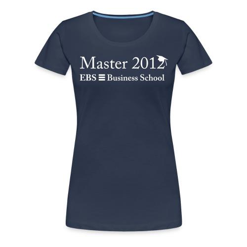 EBS Master 2012 - Frauen Premium T-Shirt