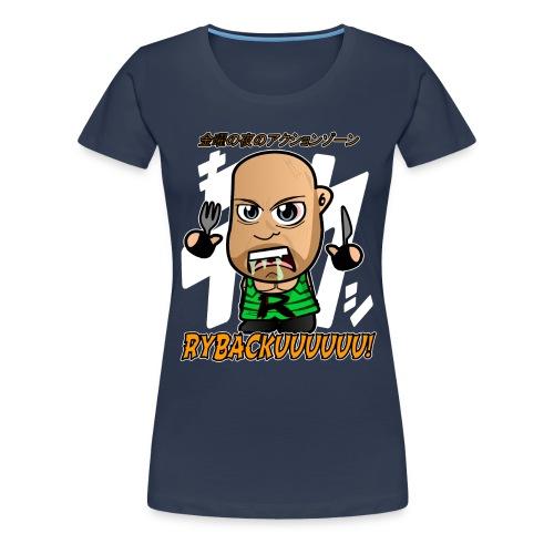 Chibi Ryback - Japanese - Women's Premium T-Shirt